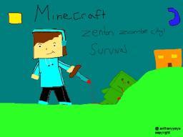 zenton zombie city survival Minecraft Map & Project