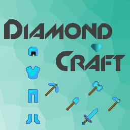 HD diamond armor and tools Craft! Minecraft Texture Pack