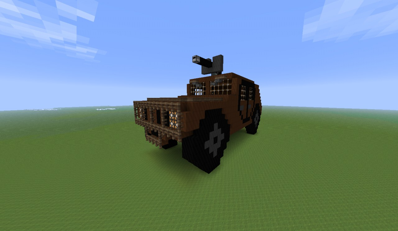 Humvee Minecraft Project
