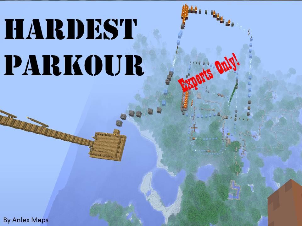 Hardest And Longest Parkour Experts Only Minecraft Project - Mapas para minecraft 1 10 2 de parkour