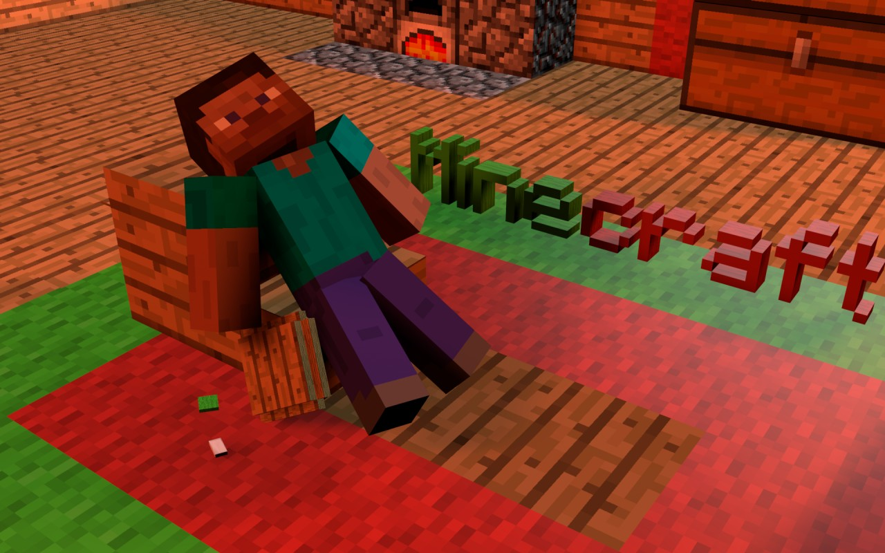 Minecraft 3d Wallpapers Hd Minecraft Project