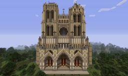 Cathedral of Our Lady of Amiens Minecraft
