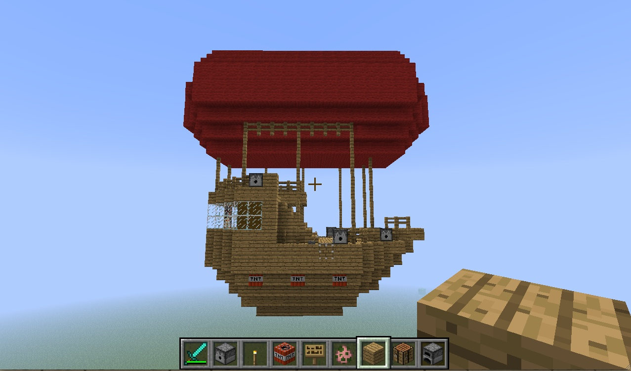 The red ship.