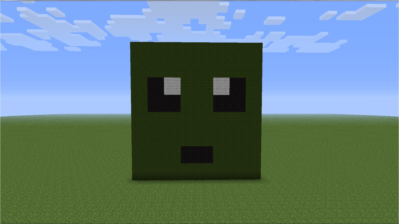 Cute Zombie Minecraft Project