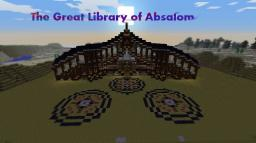 The Great Library of Absalom Minecraft Map & Project