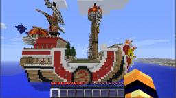 One Piece Thousand Sunny Minecraft Project