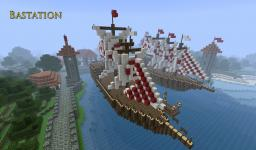 The City of  Bastation Minecraft Map & Project