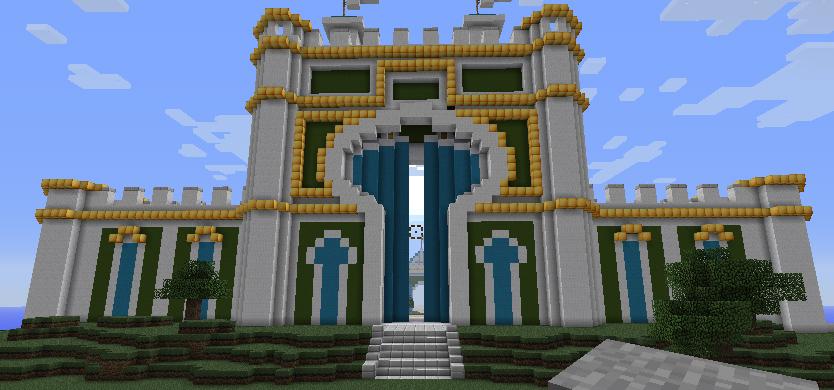 How To Craft Gate Minecraft