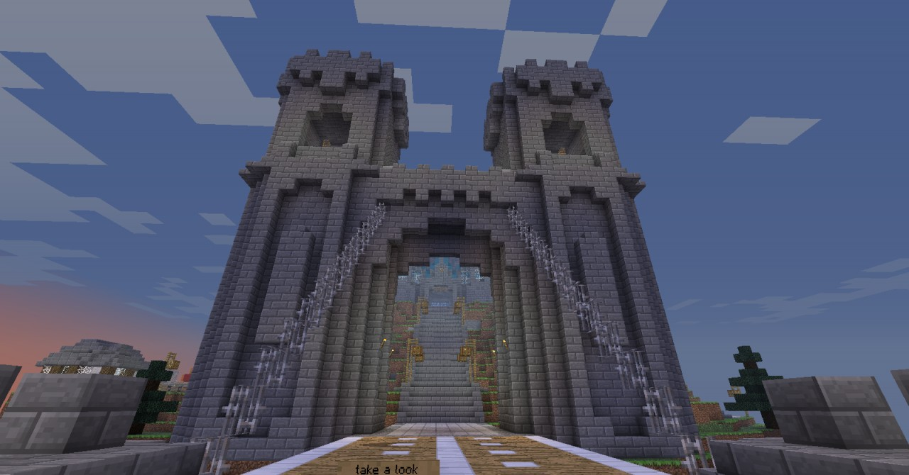Insula Auri Trading Post Minecraft Project