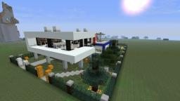 Modern House Project #3 Minecraft Map & Project