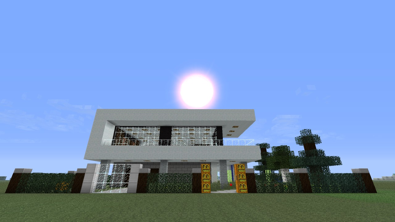 Modern House Project 3 Minecraft Project