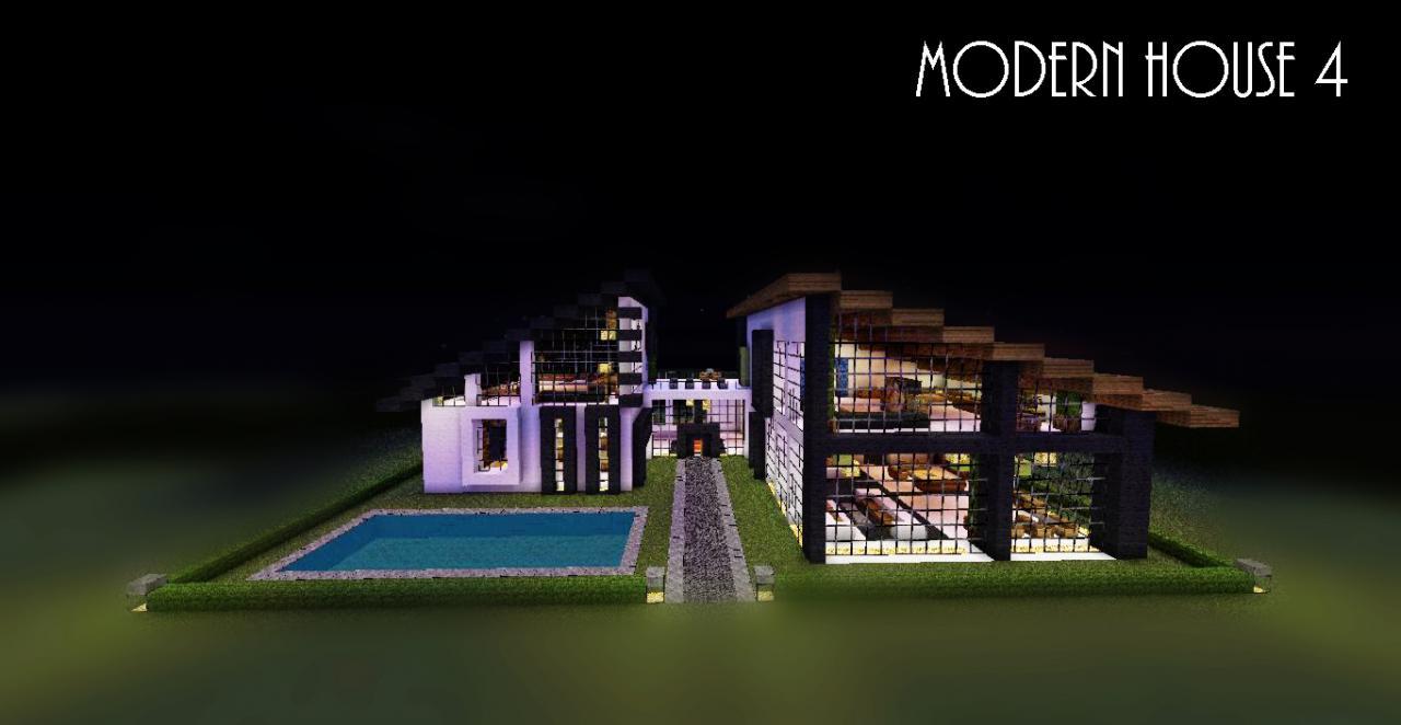 Modern House 4 Update 5 Minecraft Project