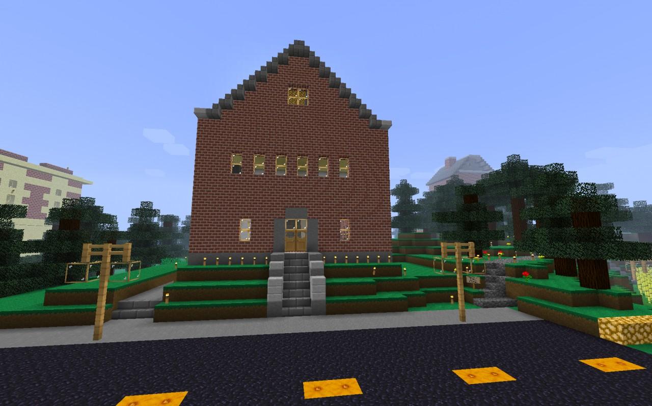 school account profile picture ideas - School Minecraft Project