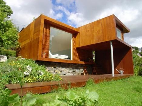 Modern home 2 minecraft project for Casas de madera minimalistas