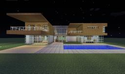modern house series #3 Minecraft Map & Project