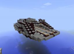 Drone Control Ship / Destroyer Class Minecraft Map & Project