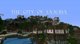 The trading City of Exalbia *Finished* Minecraft