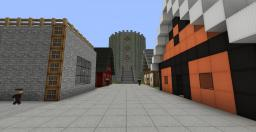High Life Villagers Town Minecraft Map & Project
