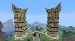 Gremlin tower / Gate and grounds Minecraft Map & Project