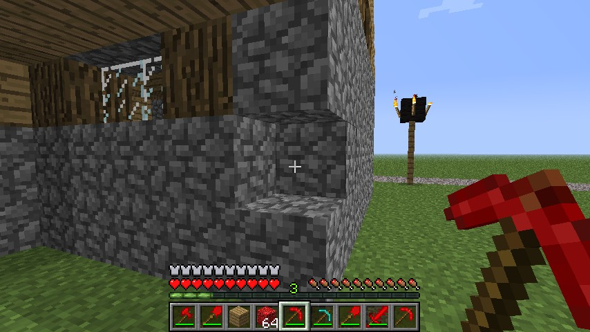 minecraft opmines server how to get a better pickaxe
