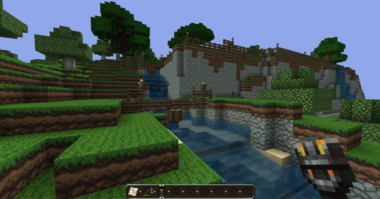 the mysterious island minecraft project