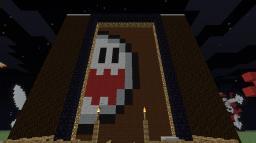 Scrolling Pixel Art - Redstone/pistons Minecraft Map & Project