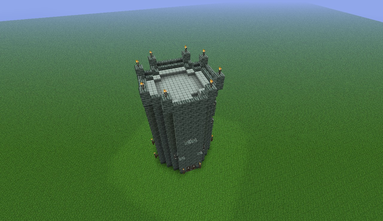 Castle Tower Minecraft Project