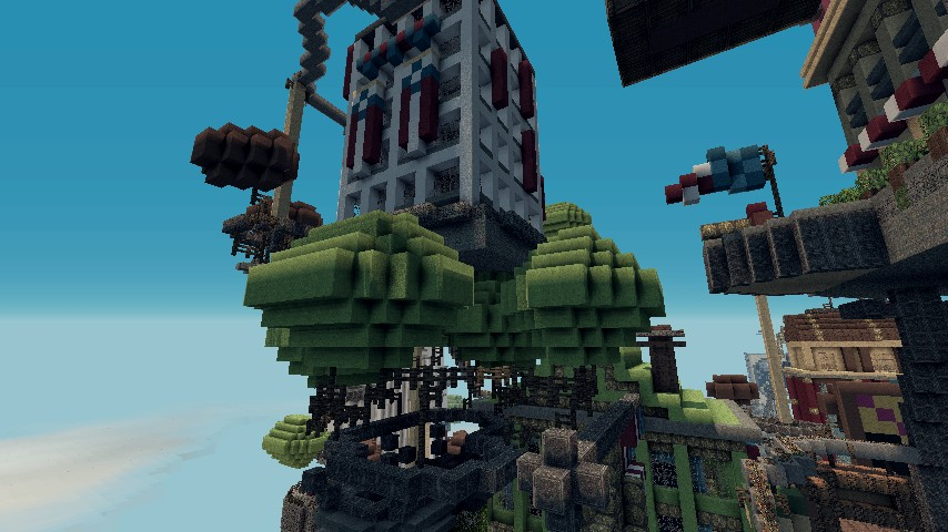 Floating towers