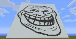Troll PixelArt By EverGreen Minecraft Map & Project