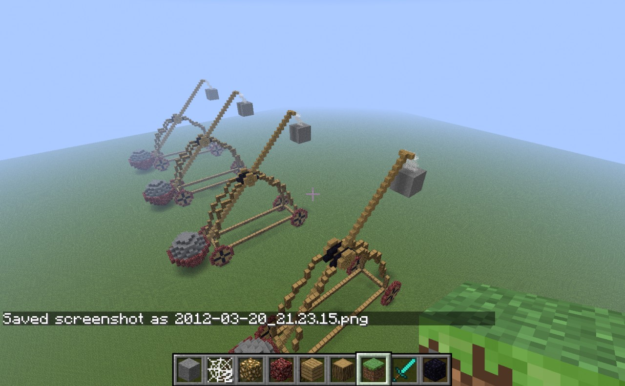 Catapult Brigade Minecraft Project