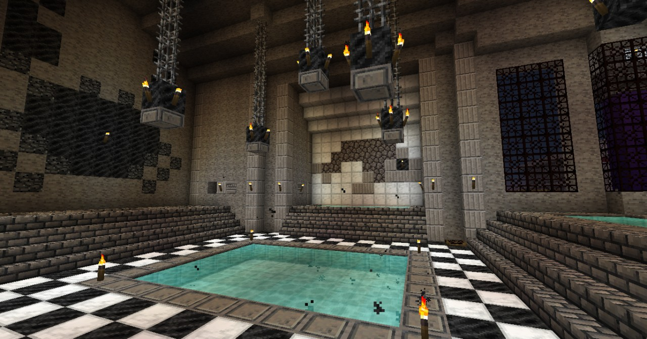 Ostia Bathhouse Roman Bathhouse Remake Minecraft Project