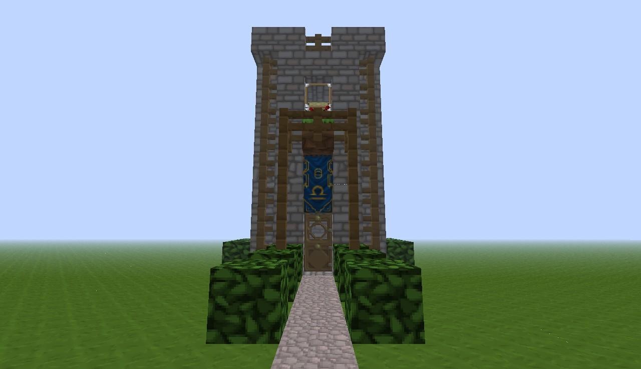 Stone Fence Minecraft