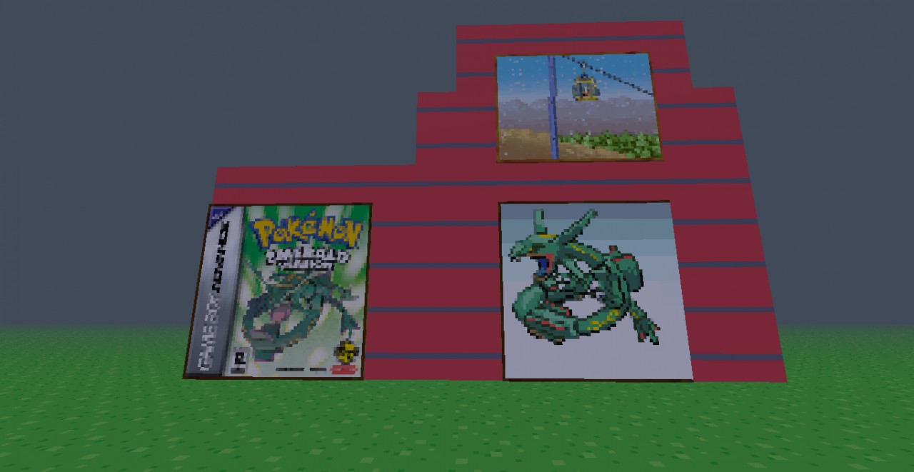 Pokemon Emerald Minecraft