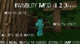 Invisibility Mod |1.2.3| Minecraft Mod