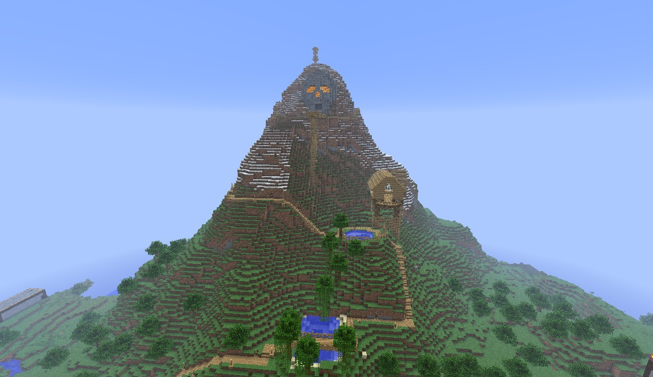 throat of the world map Throat Of The World 66 85 148 130 25616 Minecraft Map