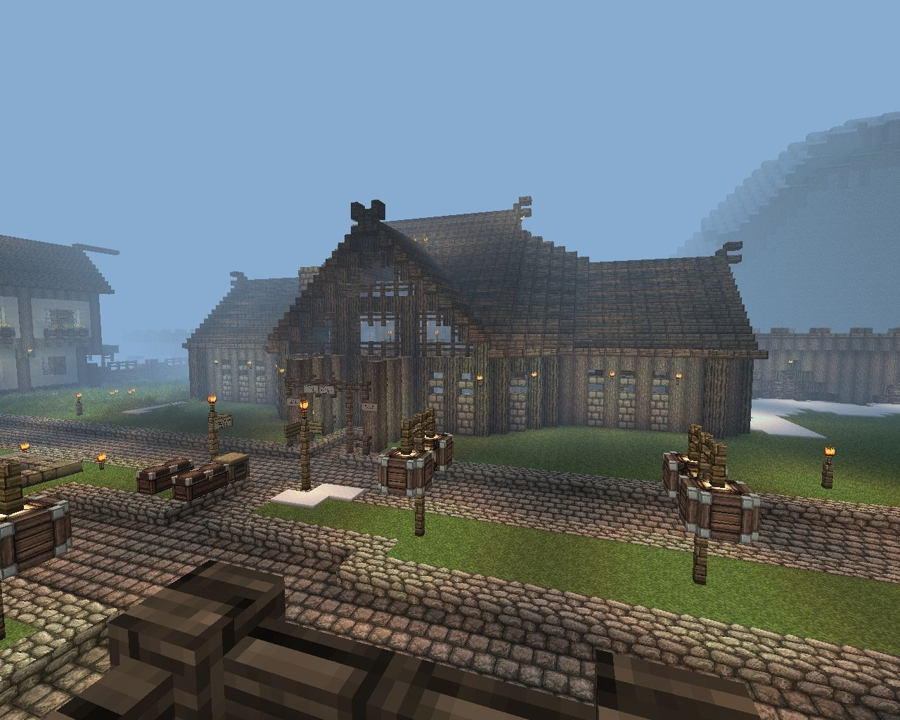 smp buildings minecraft project