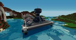 Not-So-Deep-Sea Oil Rig Minecraft Map & Project