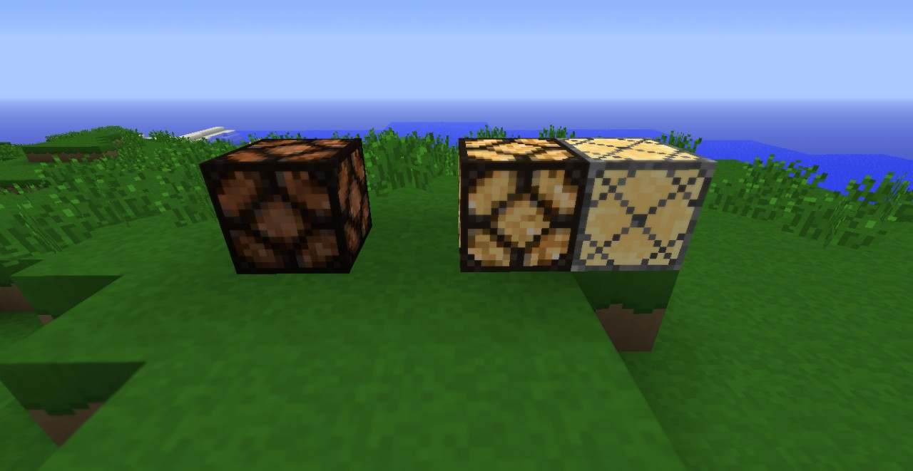 Redstone Lamps have less 'dirty' colouration, but inactivated lamps are unchanged as of yet.