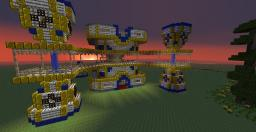 Golden Cathedral Minecraft Map & Project