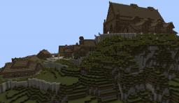 Medieval city   hall - Edoras Minecraft Map & Project
