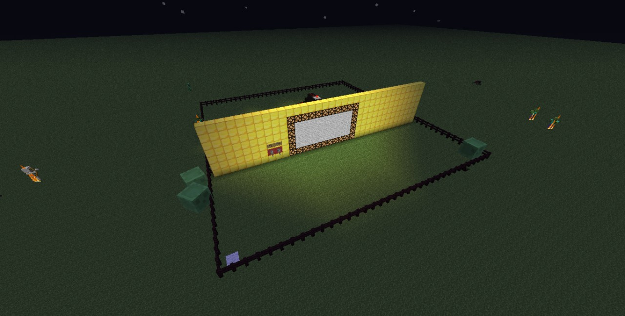 Redstone Lamp Display Minecraft Project