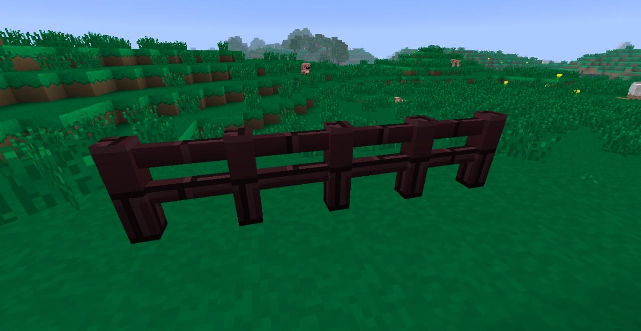 ...Netherbrick fence...