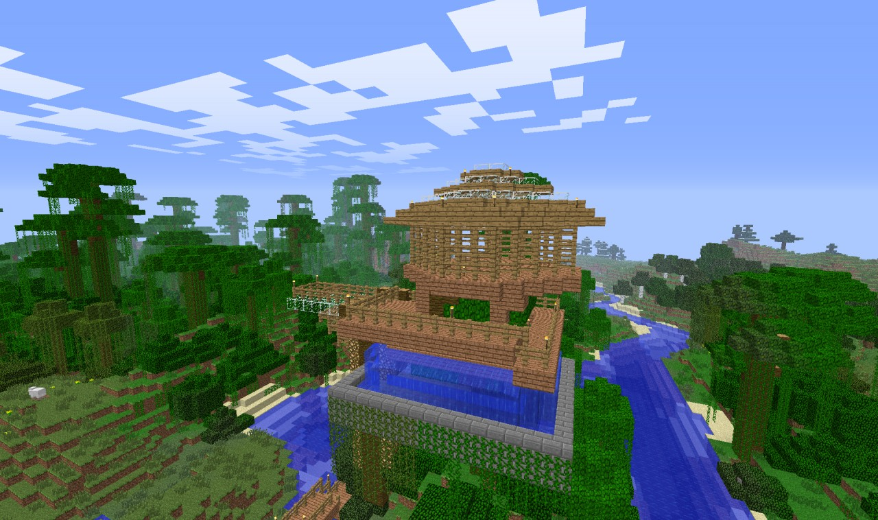 Minecraft Awesome House Auto Design Tech