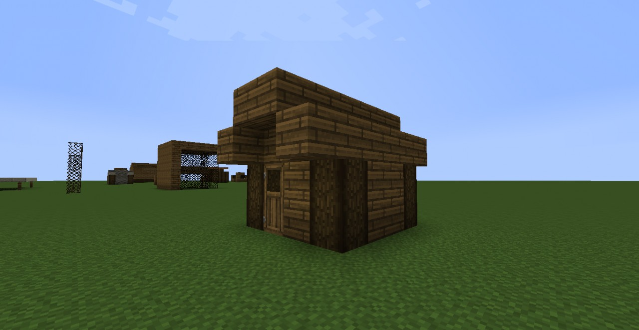 A Tiny House Minecraft Project