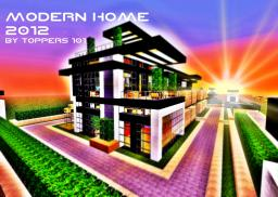 MODERN HOME 2012 Minecraft Project
