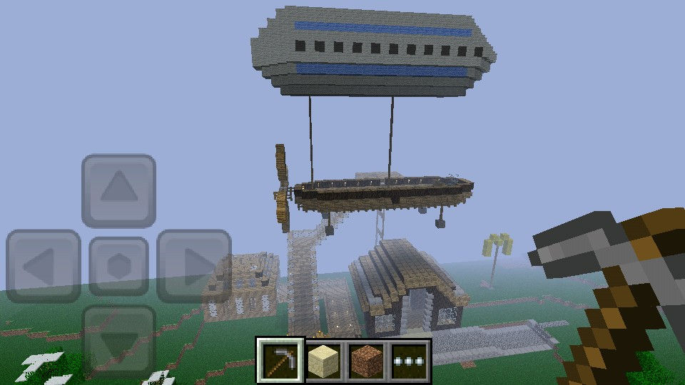Airship and Library