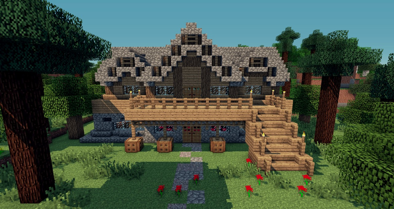 Medieval Old House Minecraft Project