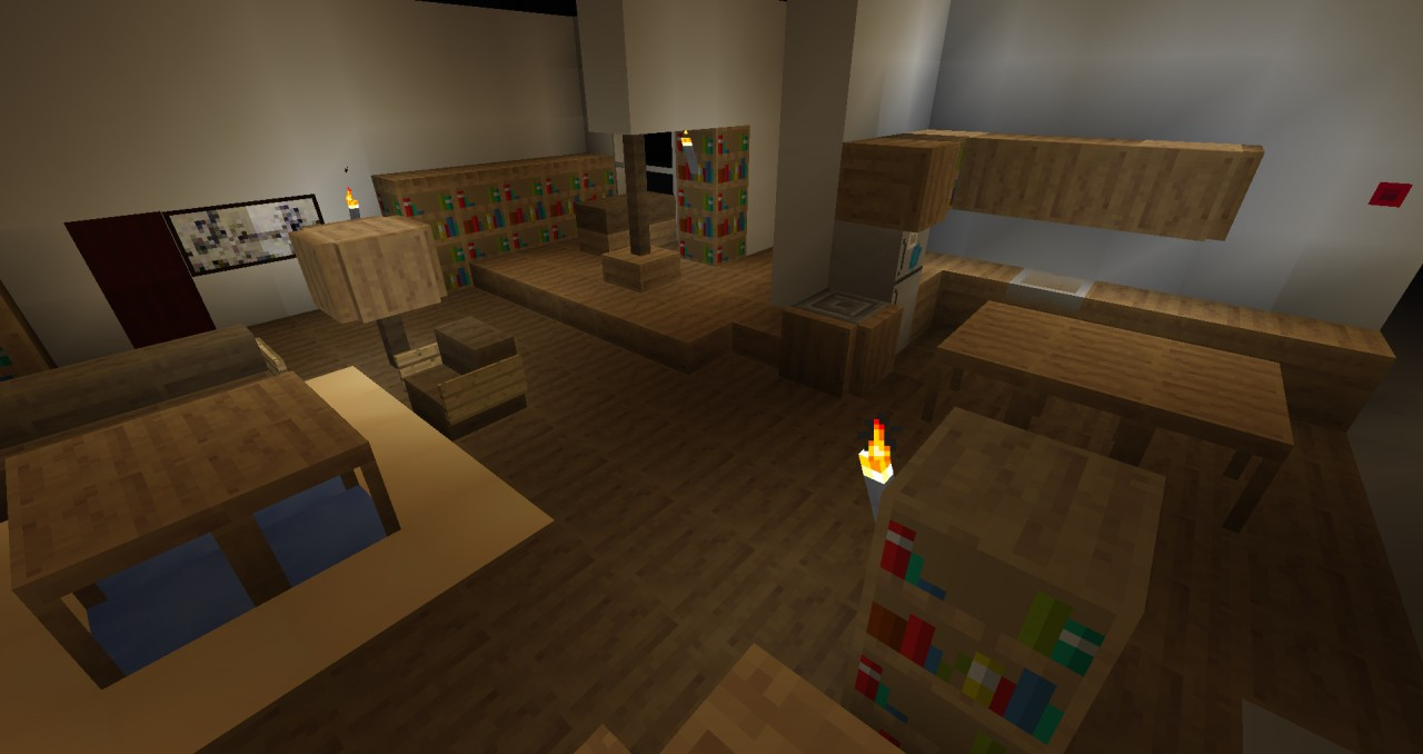 The Big Bang Theory Texturepack Map Minecraft Project