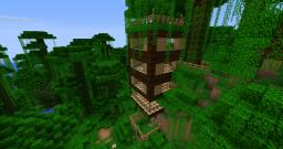 Jungle-TreeHouse Minecraft Map & Project