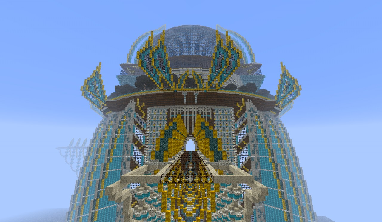 Big pretty spawn wip including name minecraft project for Pretty project